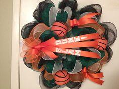 Basketball Wreath