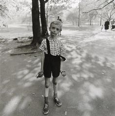 Diane Arbus, Child with a toy hand grenade in Central Park, New York, 1962