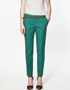 Available Now on our store:  Pencil Casual Pan... Check it out here ! http://mamirsexpress.com/products/pencil-casual-pants-women-spring-summer-autumn-trousers-with-belt?utm_campaign=social_autopilot&utm_source=pin&utm_medium=pin