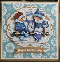 3d Cards, Marianne Design, Daisy, Christmas Cards, Stamp, Crafty, Handmade, Christmas E Cards, Hand Made