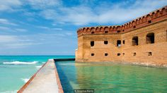 Fort Jefferson is perhaps the most well known feature of Dry Tortugas (Credit: Credit: America/Alamy)