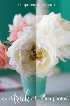 This is such a great tip! A totally free way to brighten photos without editing!
