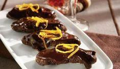Νηστίσιμα Σοκολατάκια με καρύδι και μανταρίνι απο την Αργυρώ!!