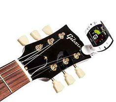 Guitar ,Bass ,Violin ,Ukulele ,Banjo Real Tuner Chromatic Clip on Tuner New