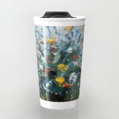 Bodegón de flores/Natureza morta de flores/Still life of flowers Travel Mug