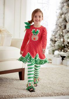 Latest Arrivals Peaches N Cream C... Check it out here http://jenskidsboutique.net/products/peaches-n-cream-christmas-holiday-red-polka-dot-reindeer-set?utm_campaign=social_autopilot&utm_source=pin&utm_medium=pin