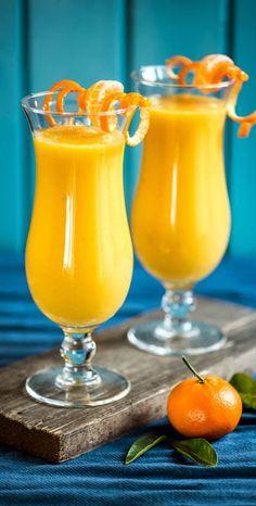 Mango-Banana-Orange Smoothie