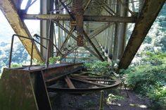 Caminho da Funicular-Paranapiacaba/SP (grota funda) | Construída em 1901 e abandonada em 1981