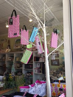 Vintage Garden's clever use of the window in Fairfield, CT