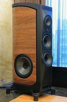 High End audio Audiophile Speakers, Speaker Amplifier, Hifi Audio, Stereo Speakers, Audio Box, High End Speakers, Built In Speakers, Wooden Speakers, Speaker Box Design