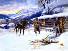 Charles M. Russell paintings