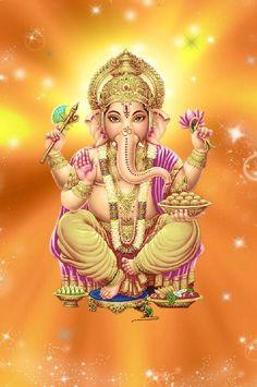Ganesh and laddoo Ganesh Pic, Sri Ganesh, Namaste, Om Gam Ganapataye Namaha, Ganesh Wallpaper, Hd Wallpaper, Lord Ganesha Paintings, Ganesha Pictures, Lord Murugan