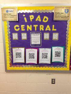 iPad Central for uploading artwork to Artsonia.com