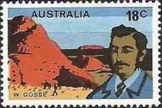 Sello: Gosse (Australia) (Explorers) Mi:AU 603,Sn:AU 635,Yt:AU 588,Sg:AU 620