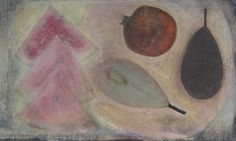 Pale Watermelon with Pears and Pomegranate, (2010) by Vivienne Williams