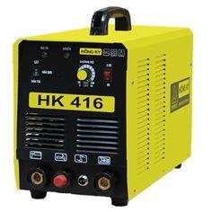 Máy hàn 3 chức năng que - tig - plasma  HK 416 Máy sử dụng được khi điện yếu ( 180V-240V) Tiết kiệm điện năng 50%-60% Hiển thị dòng cắt bằng kỹ thuật số Hiệu suất làm việc cao. Có chế độ bảo vệ quá nhiệt, quá tải, nguồn điện không ổn định Vật liệu cắt: Sắt, Inox, Đồng
