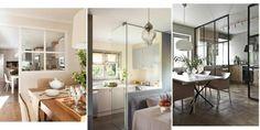 5 ideas para separar la cocina del salón