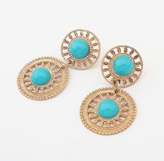 ashion earrings wholesale in Europe and America Western style hollowing new hot Drop Earrings