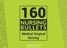 160-Nursing-Bullets Medical Surgical Nursing