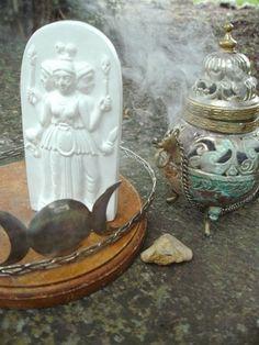 Shrine to the Goddess Hekate by soritadeste, via Flickr