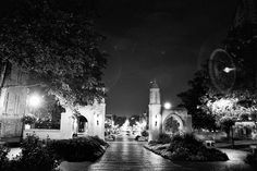 Sample Gates at Night - the place where I said yes!