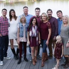 Fall family photo.