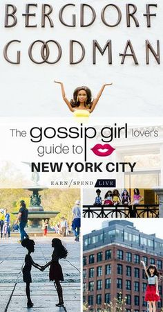 New York City Guide- 'Gossip Girl' edition! Find the most choice locations across the city on earnspendlive.com ... xoxo
