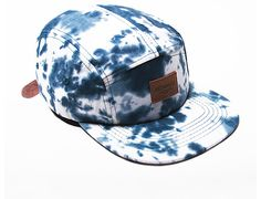 Blue Dialation 5 Panel Cap by AKOMPLICE