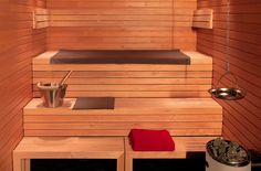 moderne Luxus Sauna selber bauen
