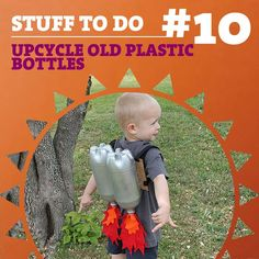 Try some of these 23 creative ways to upcycle old plastic bottles!  http://www.boredpanda.com/plastic-bottle-recycling-ideas/