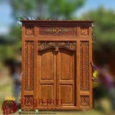 Model Pintu Gebyok Antik Minimalis Ukir Kayu Jati Wooden Door Design, Wooden Doors, Modern, Furniture, Home Decor, Trendy Tree, Decoration Home, Room Decor, Home Furnishings