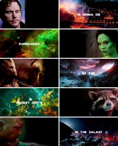 I'm gonna die surrounded by the biggest idiots in the galaxy #gotg