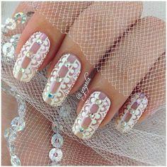 Wedding Nails bridalnail