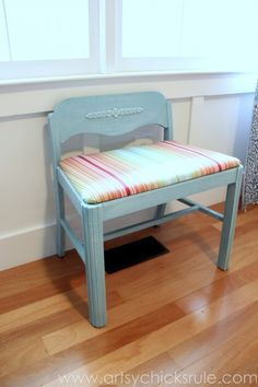 Vintage Vanity Chair $100 - Toronto http://furnishly.com/catalog ...