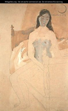 Self Portrait Naked - Gwen John