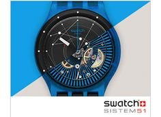 Nouvelle collection #SWATCH sistem51