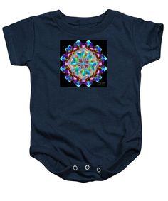 Baby Onesie - Mandala 9725