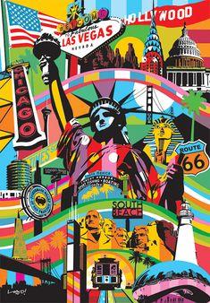 USA Pop Art