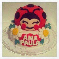 Bolo Joaninha Ladybug Cake