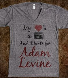 My Heart Beats For Adam Levine - Stereo Hearts