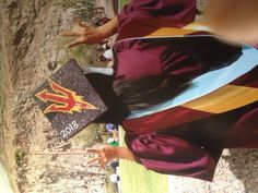 Arizona State University - GO SUN DEVILS!! Thank you Clyder for an AWESOME graduation cap!!
