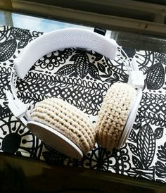Lovely Finnish handmade headphone cover, please check my facebook page facebook.com/helmistyle ! :)