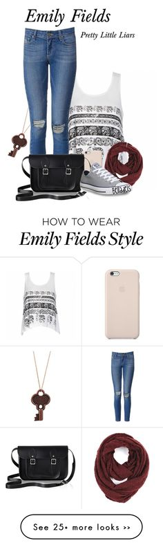 """""""Emily Fields"""" by belladels on Polyvore"""