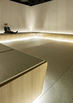 Alex Cochrane Architects has created a space for shoppers at London department store Selfridges to find peace and quiet