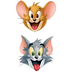 mask tom and jerry 25x8