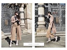 Views by Laura 2015 Trends, Spring Summer Trends, Palazzo Pants, Flare Pants, Sunnies, Duster Coat, Zara, My Style, Jackets