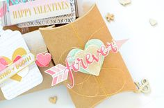 thurstonpost: gossamer blue inspiration blog hop :: january :: valentine treat boxes