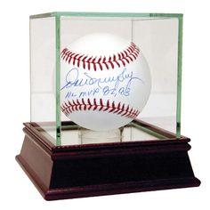 Dale Murphy MLB Baseball w NL MVP 8283 Insc