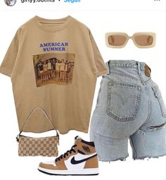 Tomboy Fashion, Teen Fashion Outfits, Retro Outfits, Look Fashion, Streetwear Fashion, Baddie Outfits Casual, Cute Swag Outfits, Cute Comfy Outfits, Stylish Outfits
