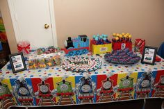 "Photo 2 of 21: Thomas the Train / Birthday ""Thomas the Train 4th Birthday Party"" 